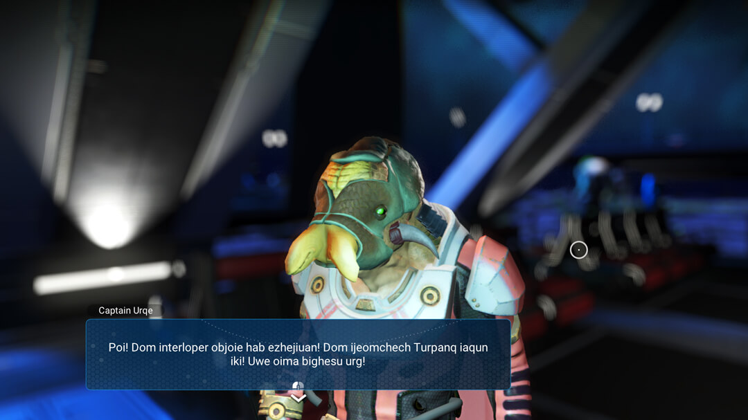Screenshot of original TAA