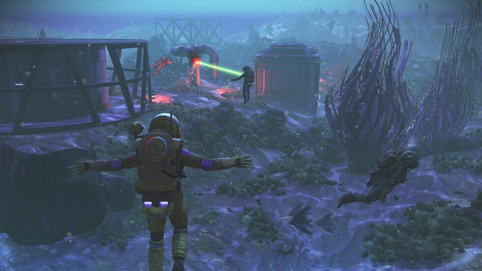 NMS Next Screenshot Underwater