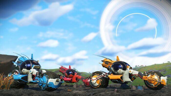 b9a83a5a7ae No Man s Sky recebe atualização com a espécie de moto Pilgrim ...