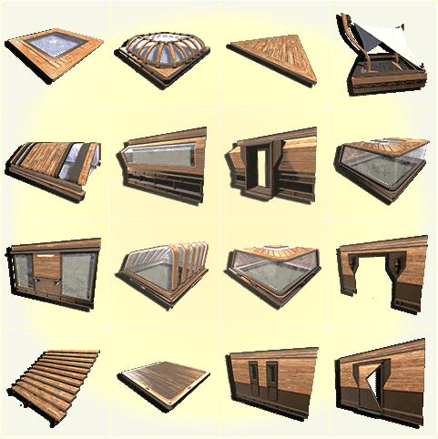 Base parts grid